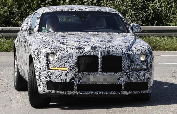 Erwischt: Rolls-Royce Ghost Coupé
