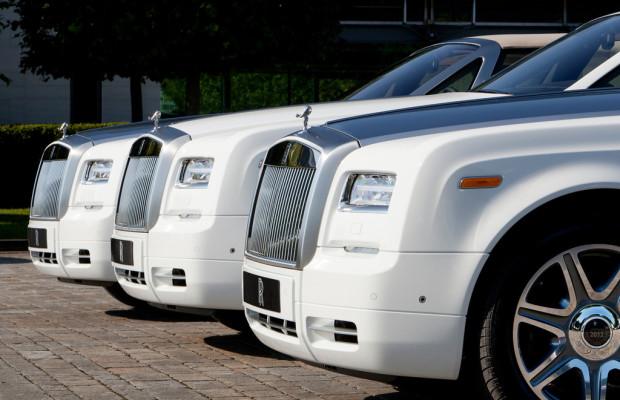 Für London 2012 überwand Rolls-Royce sogar die eigene Tradition