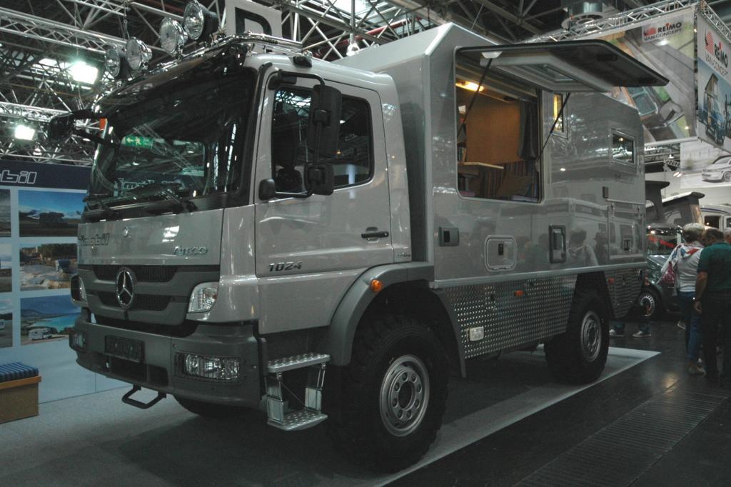 Für knapp 200.000 Euro ist der EX 480 von Bimobil zu haben