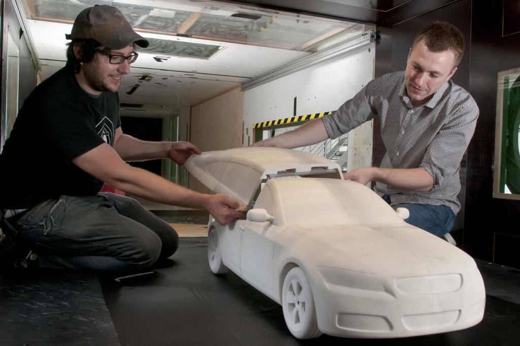 Fahrzeugentwicklung - Versuchsträger aus dem Drucker