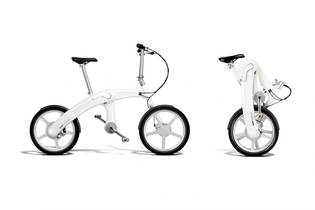 Faltbares Hybrid-E-Bike ohne Kette
