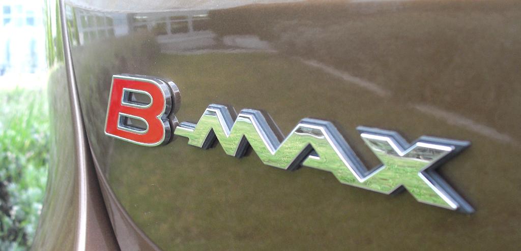 Ford B-Max: Modellschriftzug am Heck.