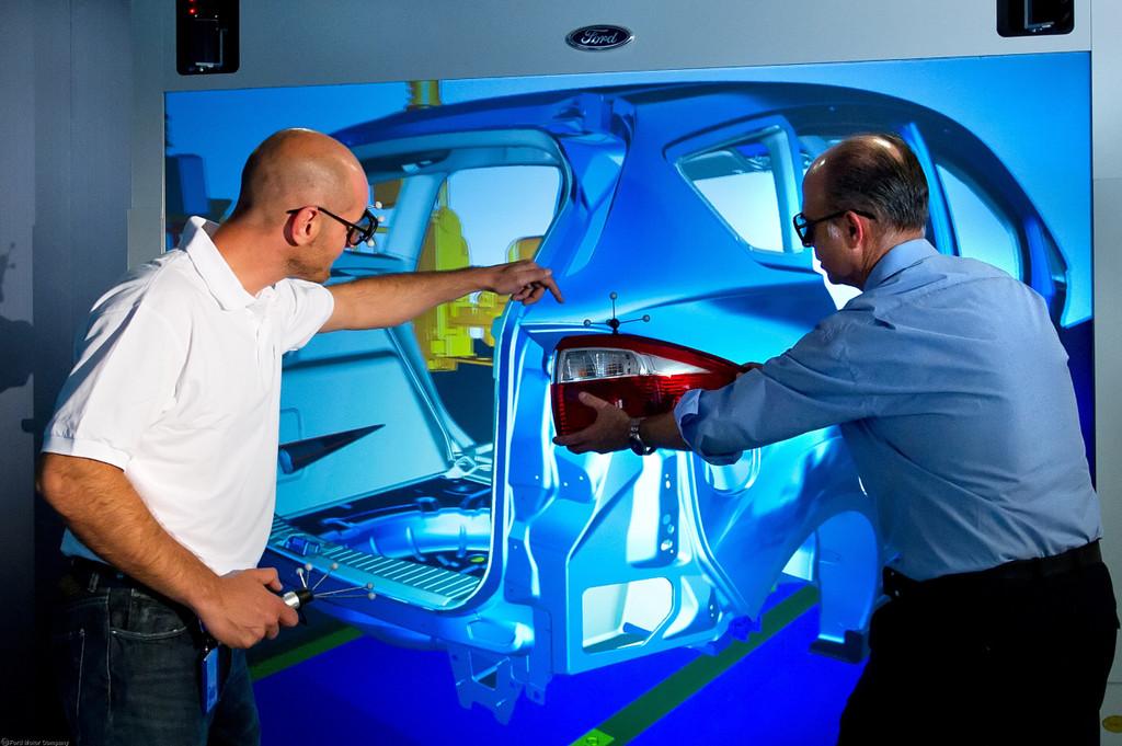 Ford entwickelt virtuelle Werksanlage