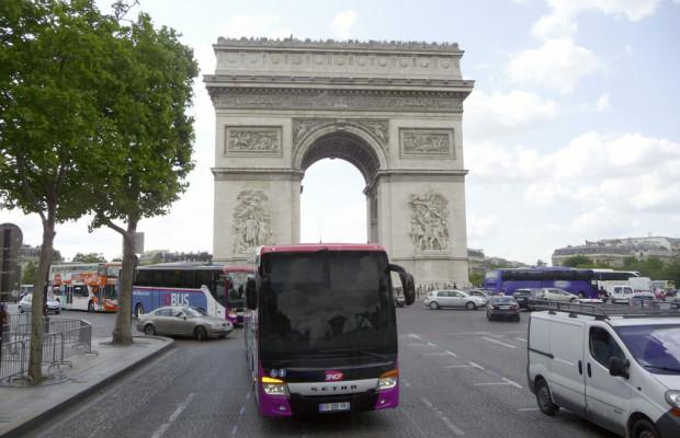 Französische Staatsbahn setzt auf der Fernlinie 26 Setra ein