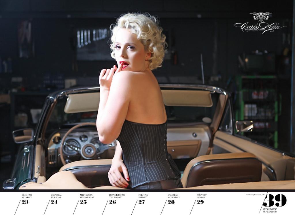 GIRLS & LEGENDARY US-CARS 2013 - Wochenkalender