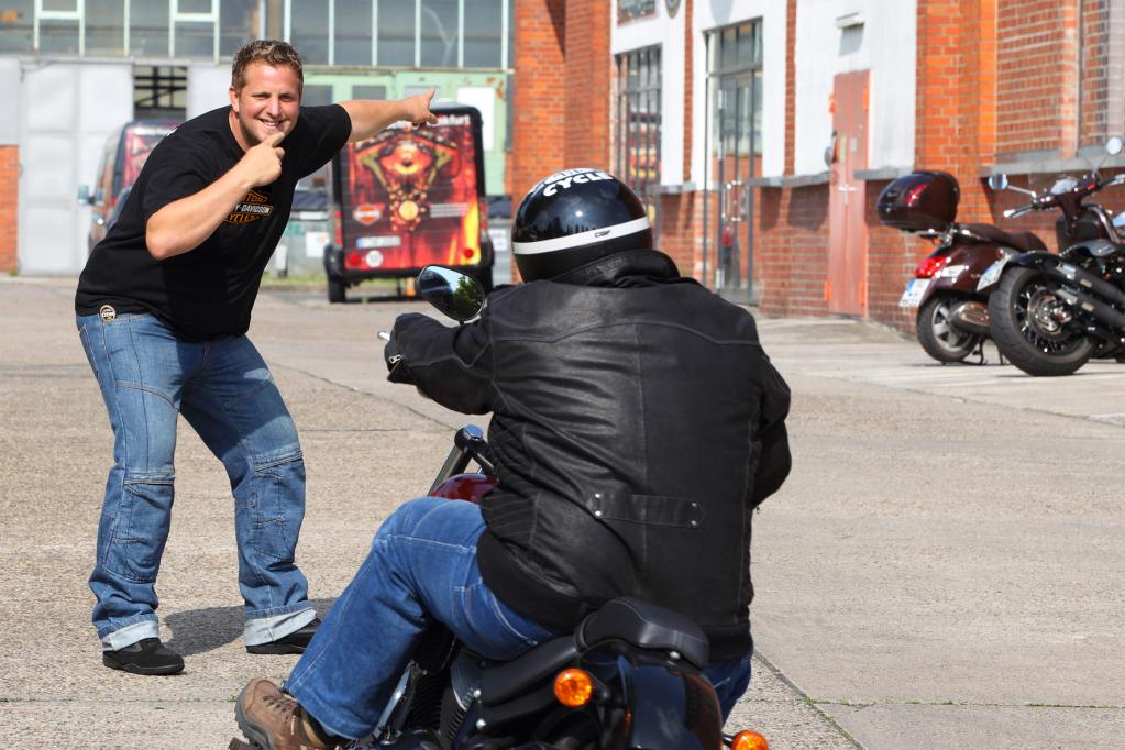 Harley-Davidson: Motorradtrainings für Wiedereinsteiger