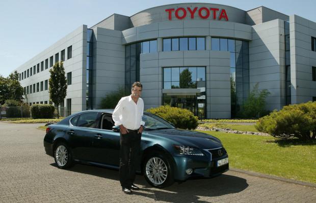 Heiner Brand übernimmt Lexus GS 450h