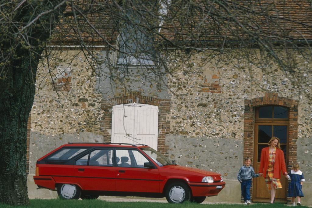 Hier blieb der BX bis zum Ende trotz aller Modellpflegemaßnahmen ein typischer Franzose