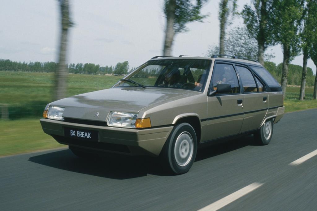 Kantige Formen und charismatische Technik machten den BX zum damals meistverkauften Citroen aller Zeiten.