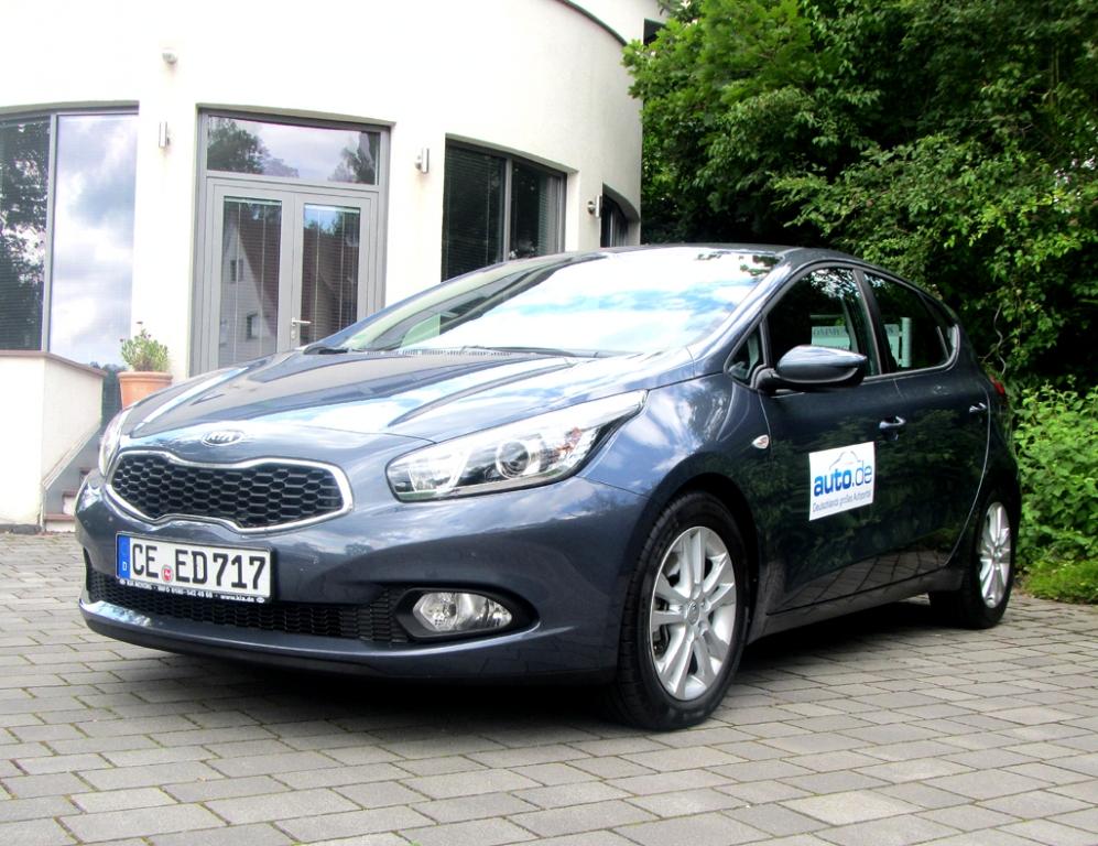 Kia Cee'd, hier als stärkster EcoDynamics-Turbodiesel. Fotos: Grebe