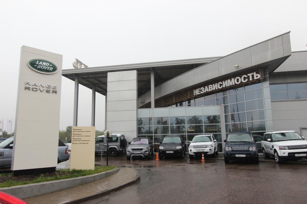 Land Rover macht beste Geschäfte in Russland