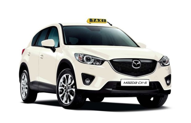 Mazda bietet den CX-5 als Taxi an