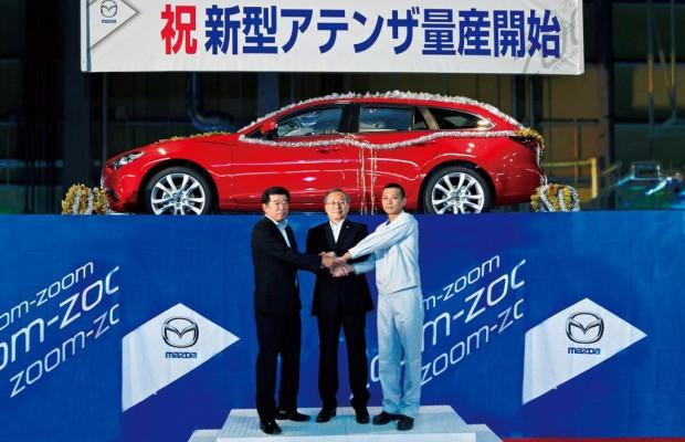 Mazda6-Produktion angelaufen