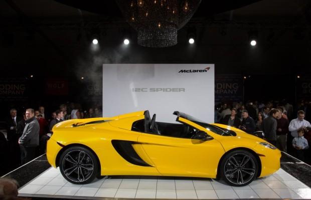 McLaren MP4 C12 Spider: Offen für 329 Sachen