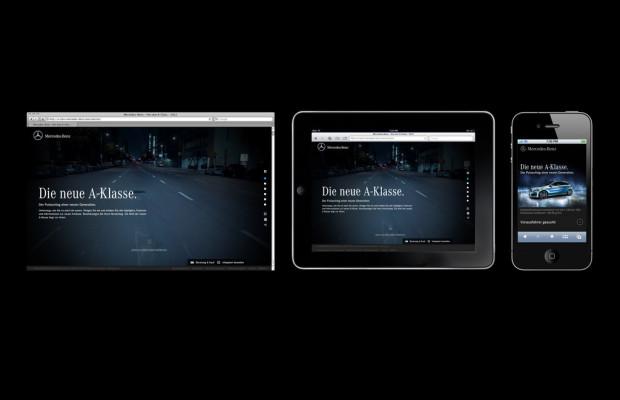 Mercedes-Benz startet Kampagne zur Markteinführung der A-Klasse