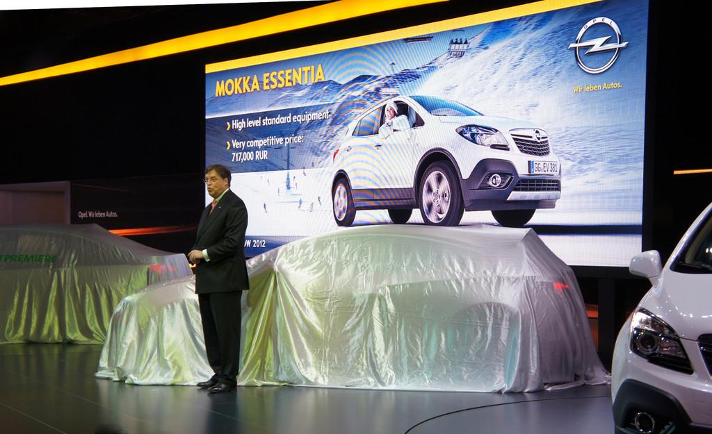 Moksua 2012: Opel setzt Marktoffensive in Russland fort