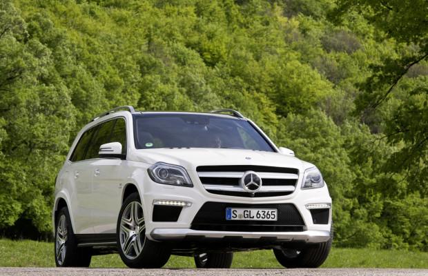 Moskau 2012: Mercedes-Benz GL 63 AMG kommt im November