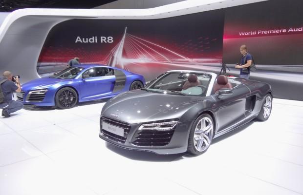 Moskau 2012: Messepremiere für den überarbeiteten Audi R8