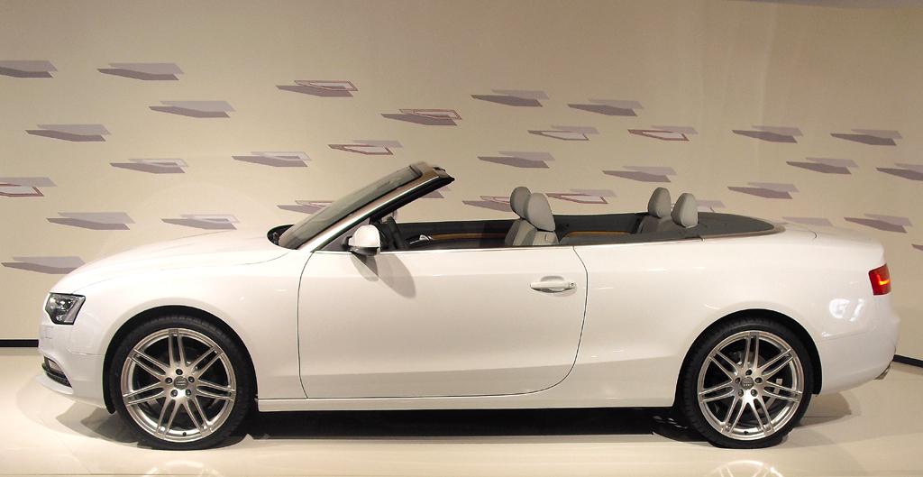 Nach oben offen vom Zwei- bis zum Fünfsitzer: Audi A5 Cabrio.