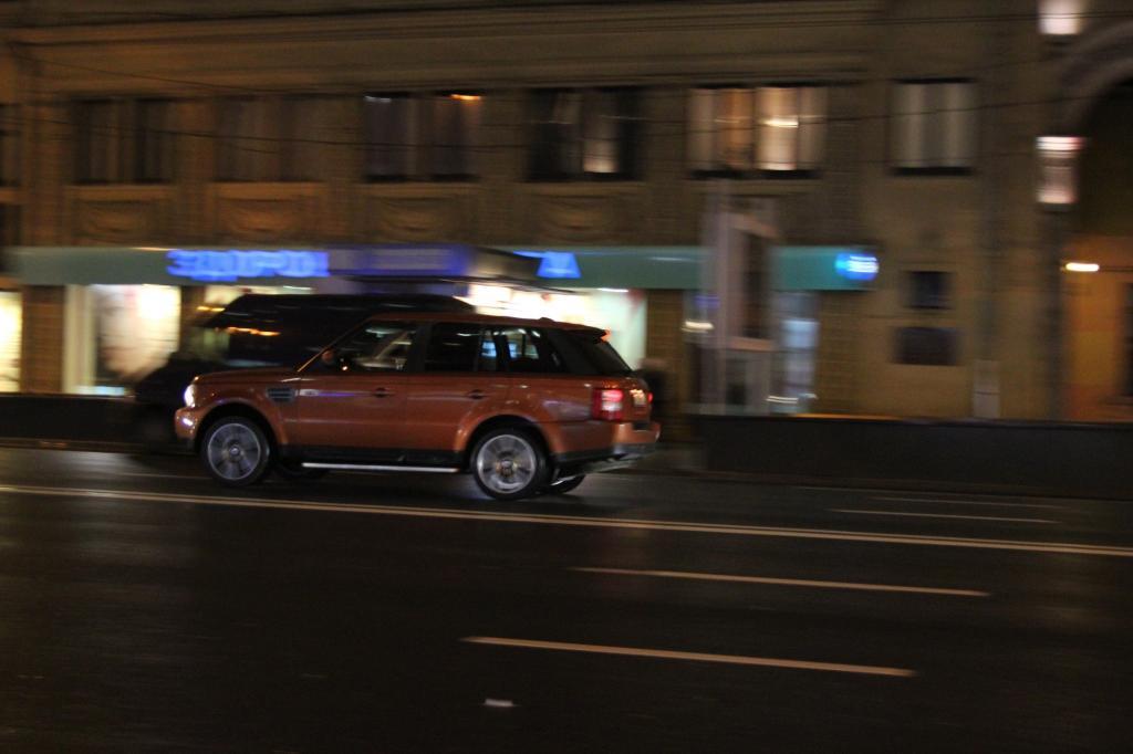 Nachts fließt der Verkehr etwas besser