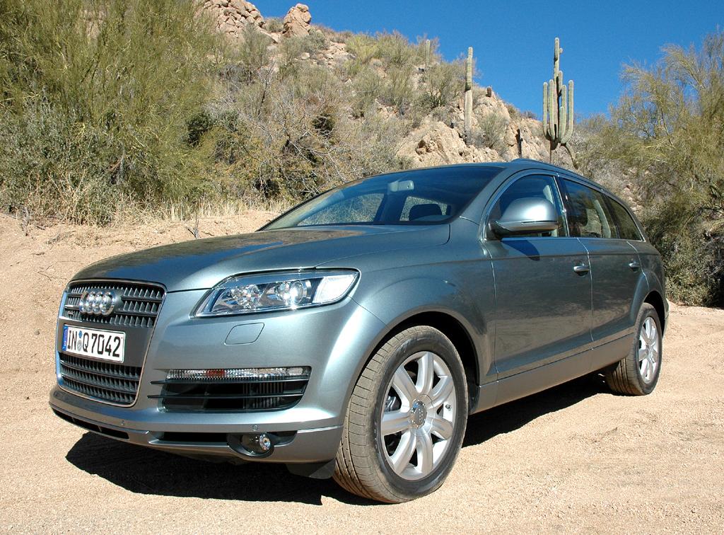 Natürlich kommt es auch bei großen SUV wie Audis Q7 auf möglichst gute Aerodynamik an.