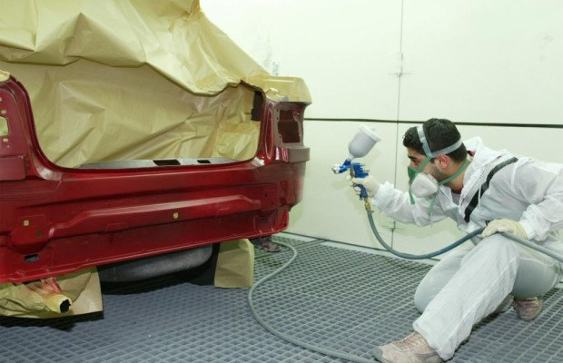 Neue Auto-Lackieranlagen zur Energieeinsparung