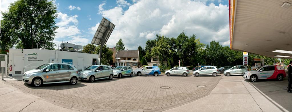 Neue Wasserstoff-Tankstelle in Hamburg
