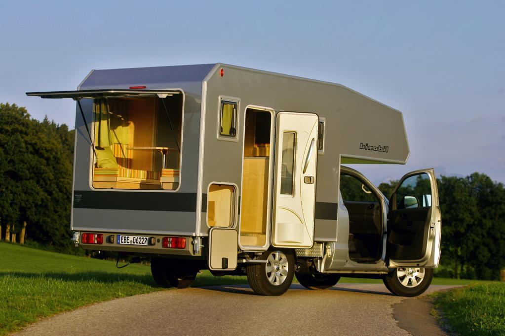 Neue Wohnkabine von bimobil
