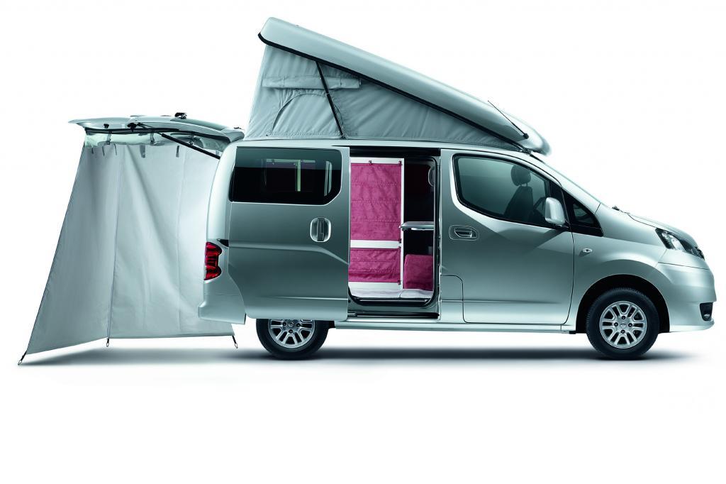 Nissan NV 200 Evalia Stadtindianer - Kompakter Camper
