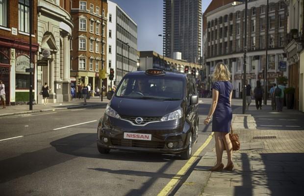 Nissan entwickelt Taxiversion des NV200 für britische Hauptstadt