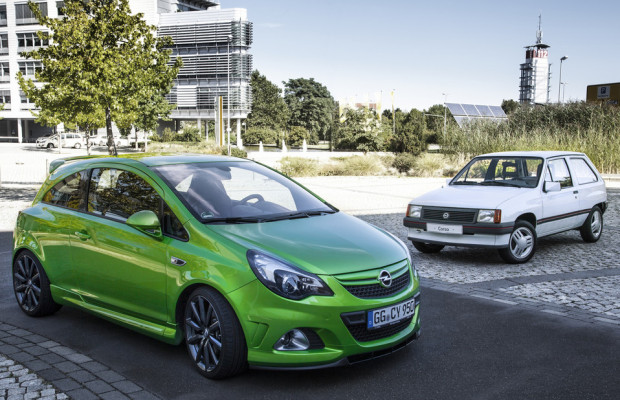 Opel Corsa feiert 30. Geburtstag