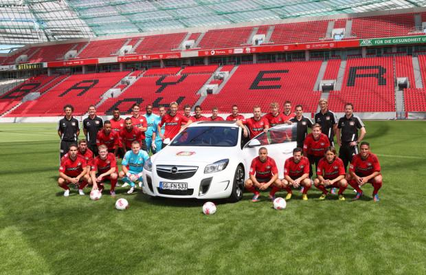 Opel ist Partner von fünf Bundesliga-Vereinen