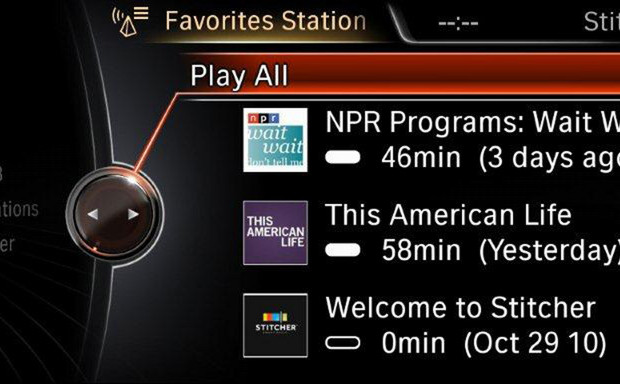 Personalisierte Radio-App für BMW und Mini-Fahrer