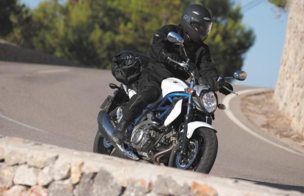Polo-Motorradjacke probefahren