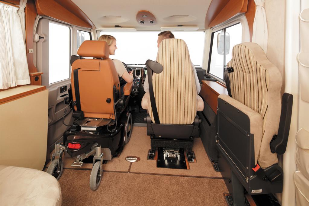 Reisemobil Paravano: Auf großer Tour trotz Behinderung