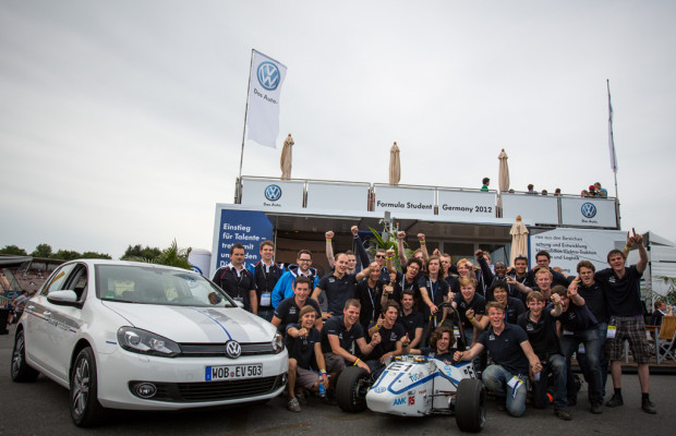 Rennstall aus Delft gewinnt Formula Student auf dem Hockenheimring