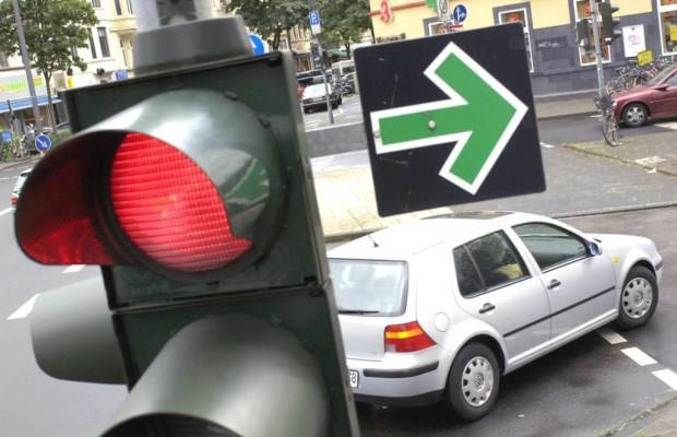 Rote Ampel - Nicht immer muss gehalten werden