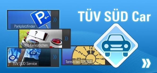 Service-App von TÜV SÜD