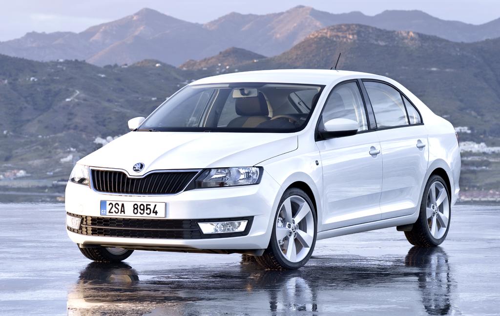 Skodas neuer Rapid ist die siebte Pkw-Baureihe der Marke.