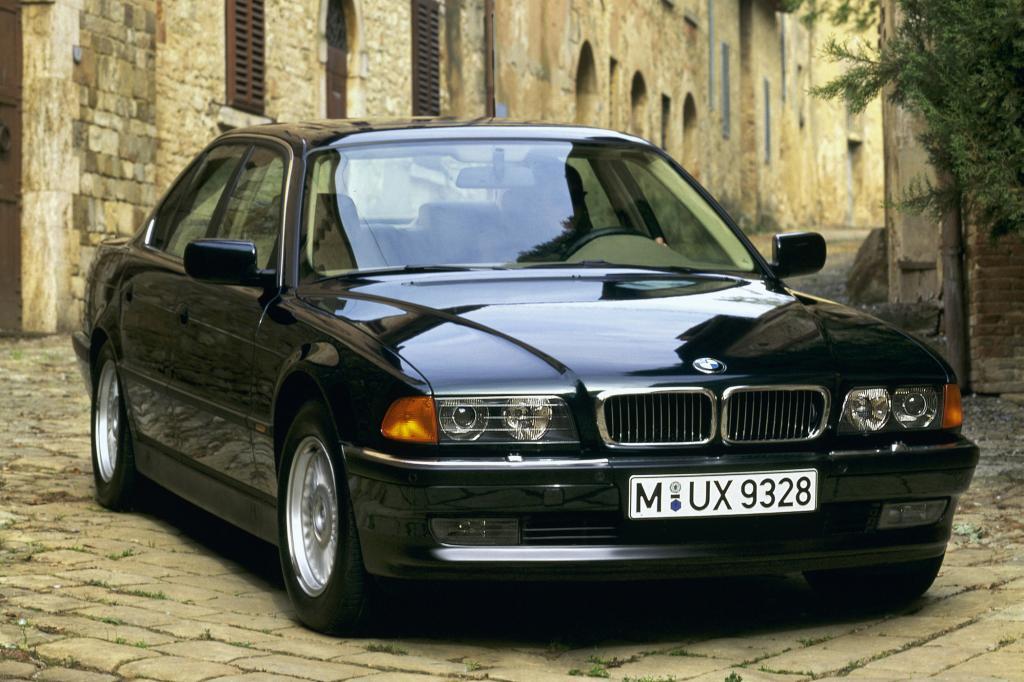 Sportlicher und luxuriös ist der BMW 7er der Baureihe E38 (1994 bis 2001)