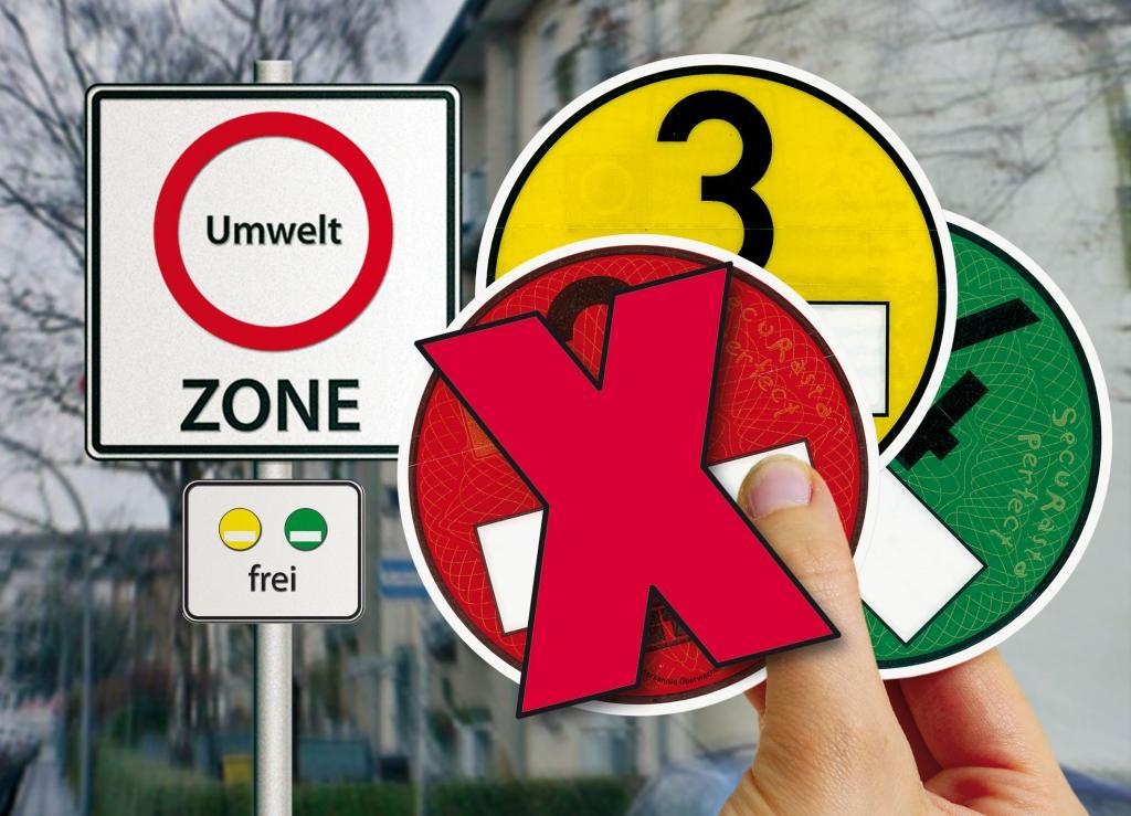 Umweltzonen - Darmstadt führt Plakette ein