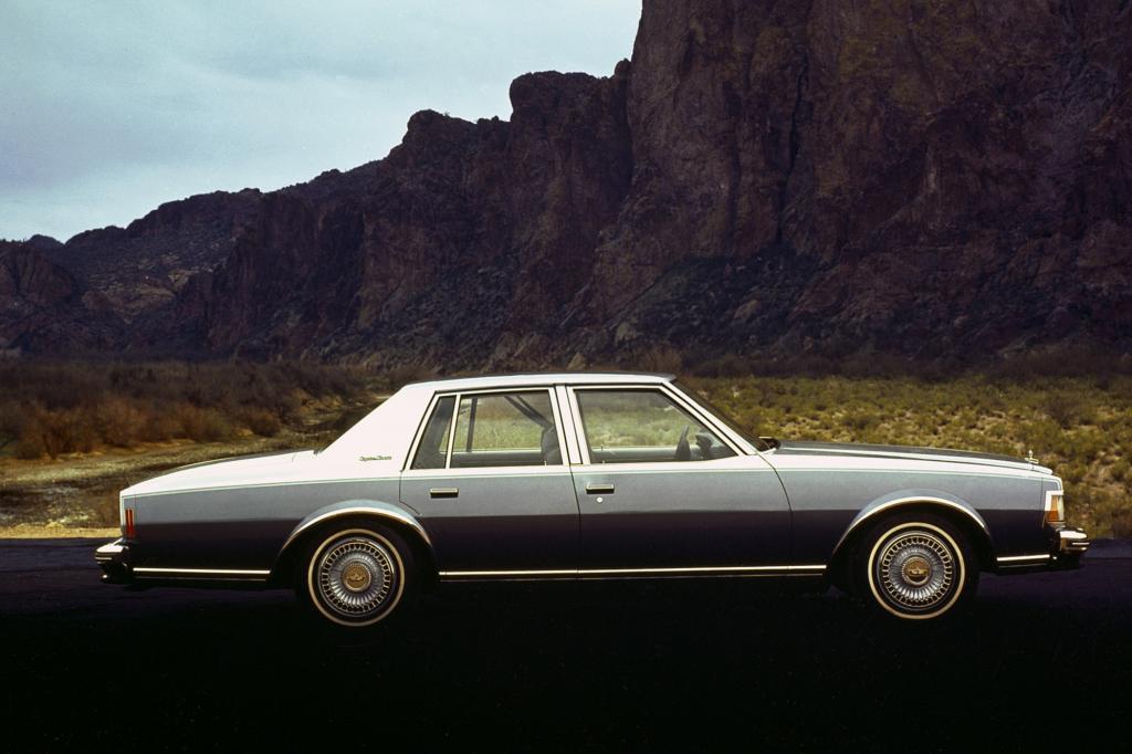 Unter der Haube des Chevrolet Caprice steckt ein 5,7 Liter großer Achtzylinder