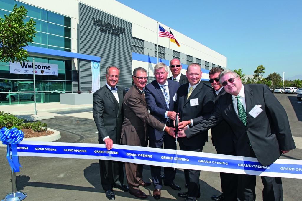 Volkswagen eröffnet Forschungs- und Entwicklungszentrum in Kalifornien