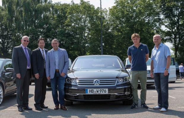 Werder Bremen übernahm 45 Volkswagen