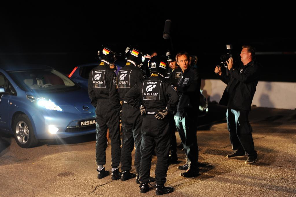 Zum ersten Mal gab es diesmal auch ein deutsches Race Camp in Silverstone