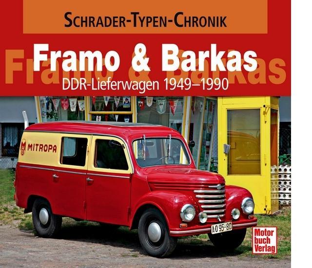 auto.de-Buchtipp: Framo & Barkas – DDR-Lieferwagen 1949-1990