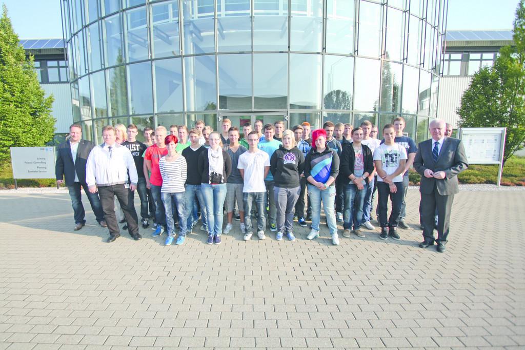 666 Jugendliche starten Ausbildung bei VW in Wolfsburg