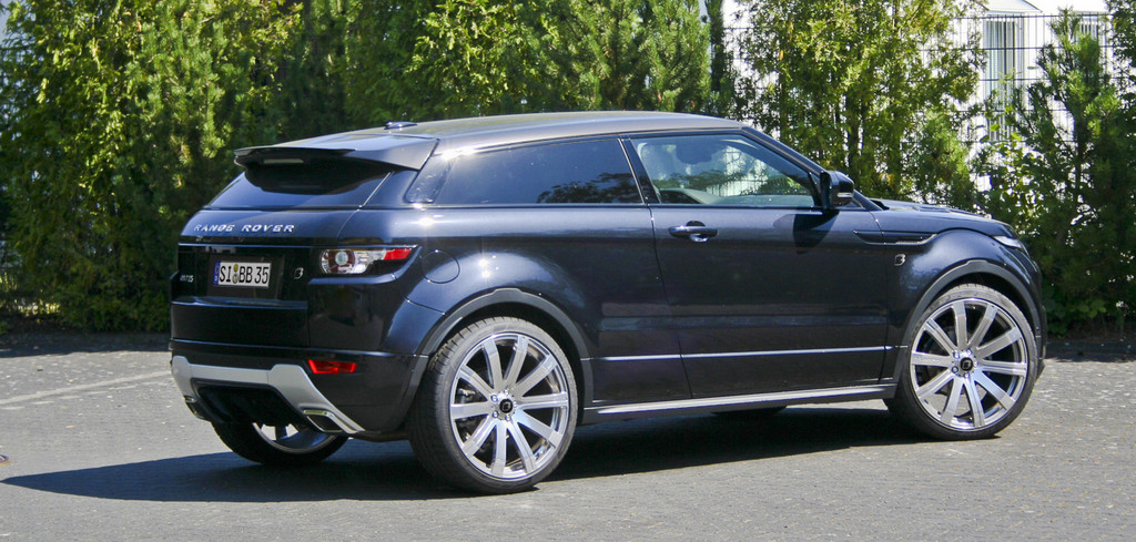 B&B verschafft dem Range Rover Evoque 300 PS oder 500 Nm