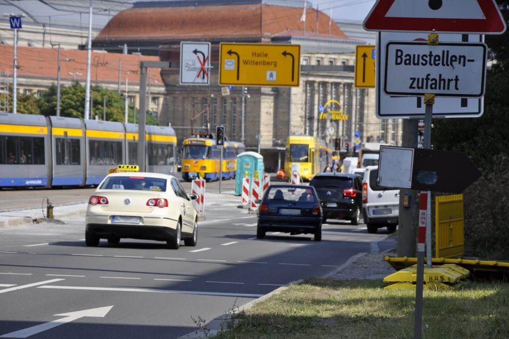 Baustellen in deutschen Städten - Gebuddelt wird immer
