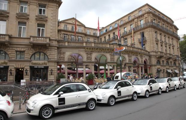 Capco übernimmt 23 Fiat 500C